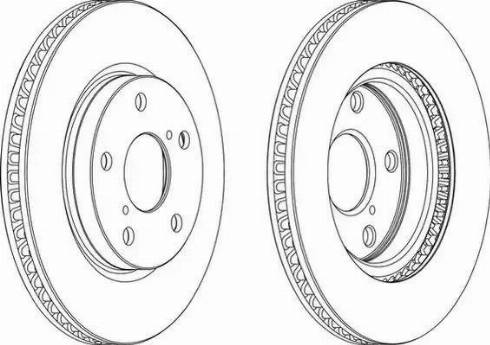 Jurid 563086JC - Bremžu diski interparts.lv