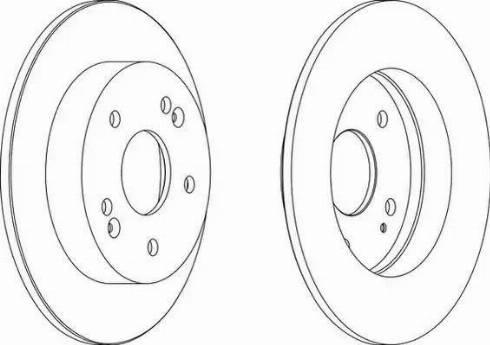 Jurid 563071JC - Bremžu diski interparts.lv