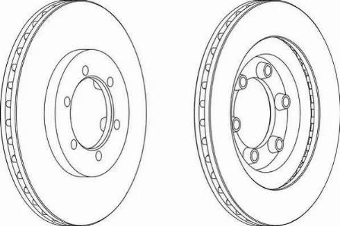 Jurid 562904JC - Bremžu diski interparts.lv