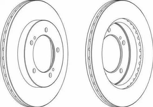 A.B.S. 16623 - Bremžu diski interparts.lv