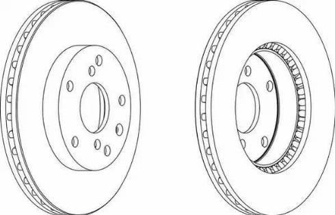 LYNXauto BN-1423 - Bremžu diski interparts.lv