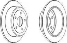 Jurid 562929JC - Bremžu diski interparts.lv