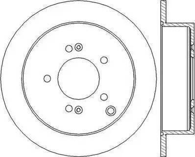 Febi Bilstein 31362 - Bremžu diski interparts.lv