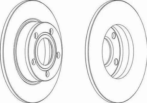 FREMAX BD-4062 - Bremžu diski interparts.lv