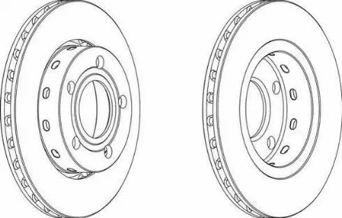 FREMAX BD-5315 - Bremžu diski interparts.lv