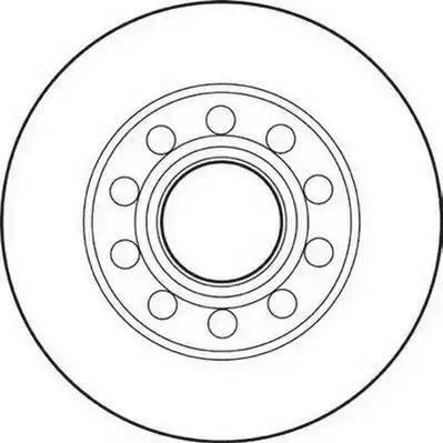 Jurid 562192J - Bremžu diski interparts.lv