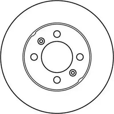 Jurid 562157JC - Bremžu diski interparts.lv