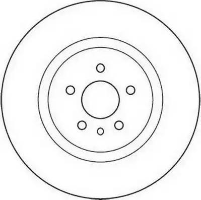 Jurid 562106JC - Bremžu diski interparts.lv