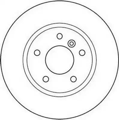 Jurid 562110J - Bremžu diski interparts.lv