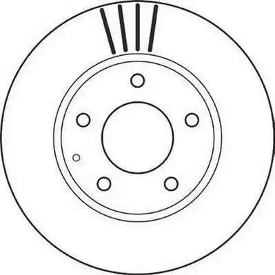 Jurid 562112J - Bremžu diski interparts.lv