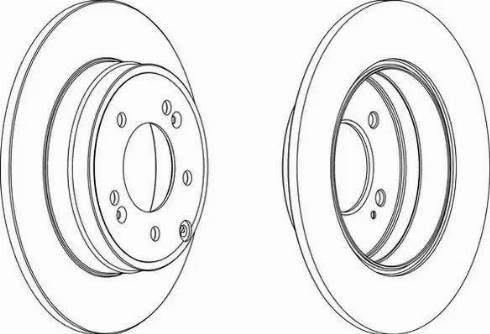 FREMAX BD-5272 - Bremžu diski interparts.lv