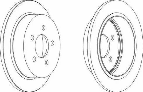 Jurid 562880JC - Bremžu diski interparts.lv