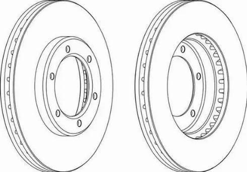 Jurid 562838JC - Bremžu diski interparts.lv