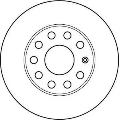 Jurid 562238JC - Bremžu diski interparts.lv