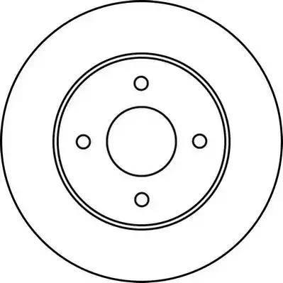 Jurid 562227JC - Bremžu diski interparts.lv