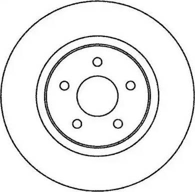 Jurid 562270JC - Bremžu diski interparts.lv