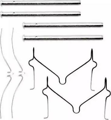 Jurid 792189J - Piederumu komplekts, Disku bremžu uzlikas interparts.lv