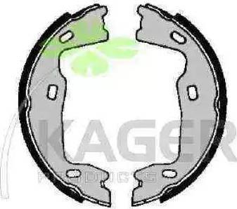 Kager 34-0105 - Piederumu komplekts, Stāvbremzes mehānisma bremžu loks interparts.lv