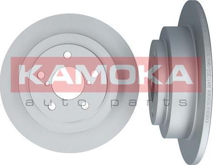 Kamoka 1031356 - Bremžu diski interparts.lv
