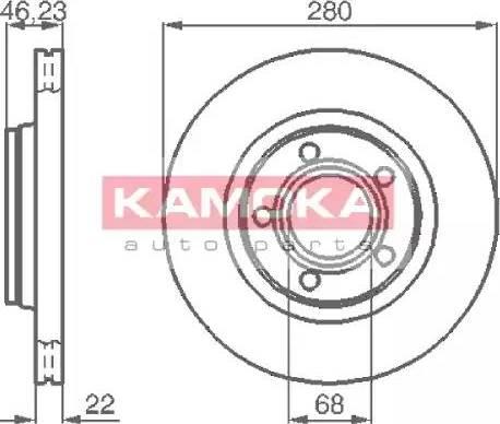 Kamoka 1032006 - Bremžu diski interparts.lv