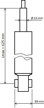 KYB 3448024 - Amortizators interparts.lv