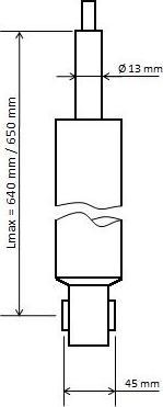 KYB 3448025 - Amortizators interparts.lv