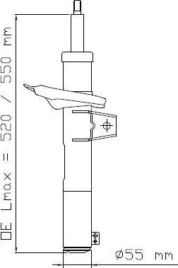 KYB 3358015 - Amortizators interparts.lv