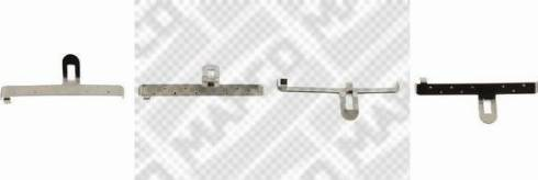 Mapco 9610 - Piederumu komplekts, Disku bremžu uzlikas interparts.lv