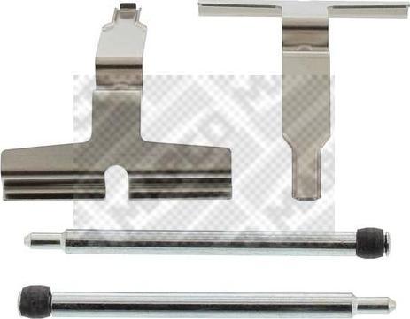 Mapco 9622 - Piederumu komplekts, Disku bremžu uzlikas interparts.lv