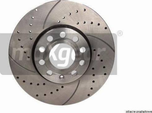 Maxgear 19-1335SPORT - Bremžu diski interparts.lv