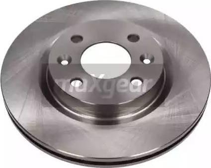 Maxgear 19-0796 - Bremžu diski interparts.lv
