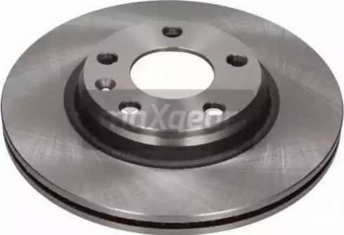 Maxgear 19-0758 - Bremžu diski interparts.lv