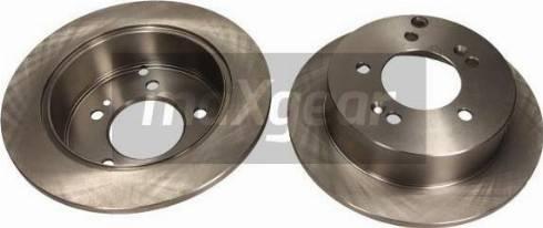 Maxgear 19-1232 - Bremžu diski interparts.lv