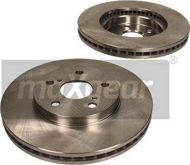 Maxgear 19-3357 - Bremžu diski interparts.lv