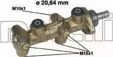 Metelli 05-0040 - Galvenais bremžu cilindrs interparts.lv