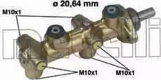 Metelli 05-0041 - Galvenais bremžu cilindrs interparts.lv