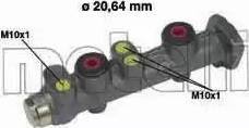 Metelli 05-0066 - Galvenais bremžu cilindrs interparts.lv