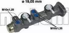 Metelli 05-0005 - Galvenais bremžu cilindrs interparts.lv