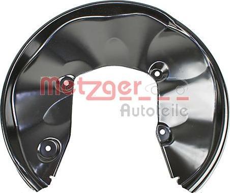 Metzger 6115198 - Dubļu sargs, Bremžu disks interparts.lv