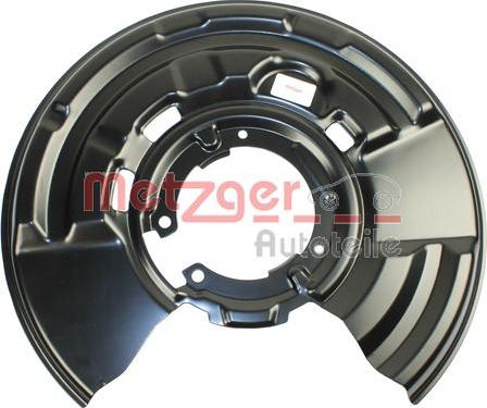 Metzger 6115139 - Dubļu sargs, Bremžu disks interparts.lv