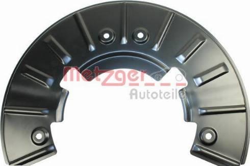 Metzger 6115135 - Dubļu sargs, Bremžu disks interparts.lv