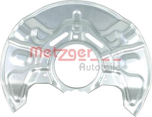 Metzger 6115245 - Dubļu sargs, Bremžu disks interparts.lv