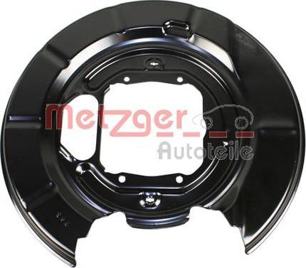 Metzger 6115257 - Dubļu sargs, Bremžu disks interparts.lv