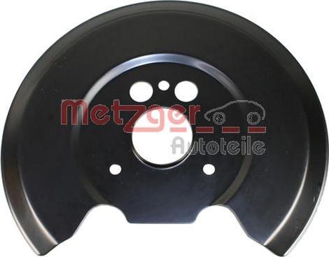 Metzger 6115282 - Dubļu sargs, Bremžu disks interparts.lv