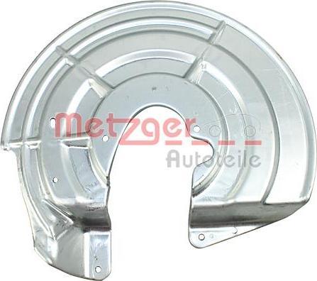 Metzger 6115272 - Dubļu sargs, Bremžu disks interparts.lv