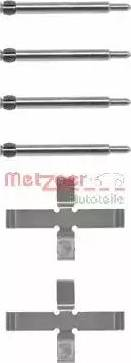 Metzger 109-0980 - Piederumu komplekts, Disku bremžu uzlikas interparts.lv