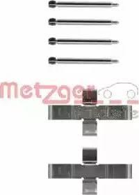 Metzger 109-1004 - Piederumu komplekts, Disku bremžu uzlikas interparts.lv