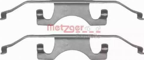 Metzger 109-1241 - Piederumu komplekts, Disku bremžu uzlikas interparts.lv