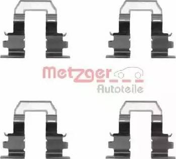 Metzger 109-1255 - Piederumu komplekts, Disku bremžu uzlikas interparts.lv
