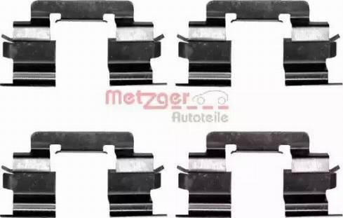 Metzger 109-1216 - Piederumu komplekts, Disku bremžu uzlikas interparts.lv